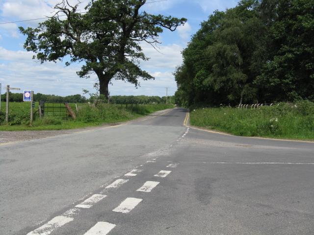 Davenport Lane from Bagmere Lane