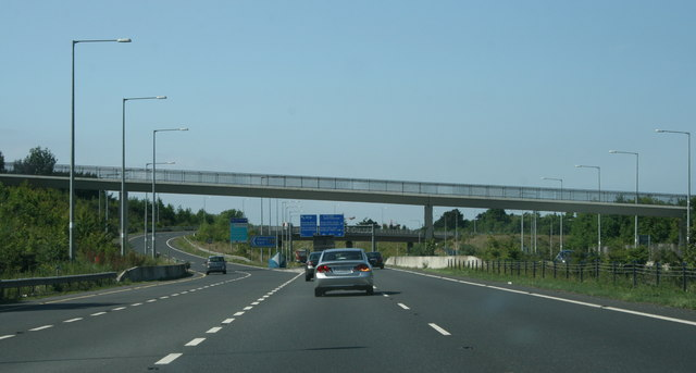 The M11/M50, County Dublin