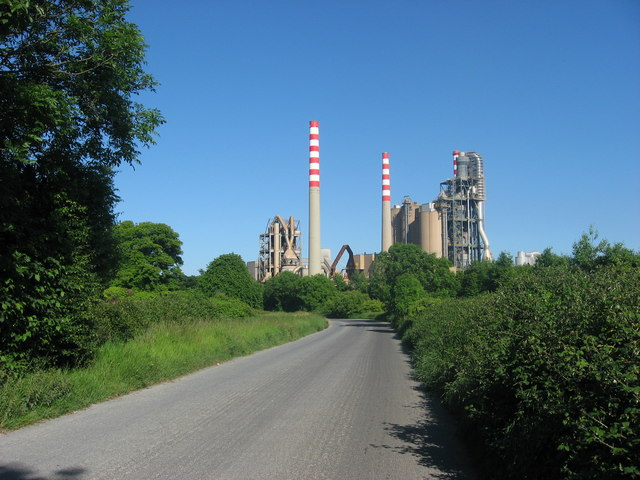 Cement works, Platin, Co. Meath