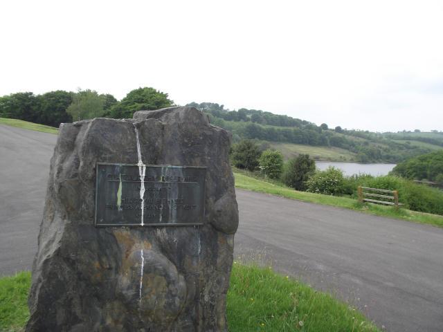 Inauguration plaque
