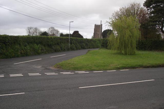 Approach road to St. Decuman's Church