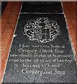 TF6211 : St Peter & St Paul, Watlington, Norfolk - Ledger slab by John Salmon