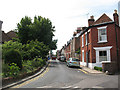TR1558 : St Radigund's Street, Canterbury by Stephen Craven