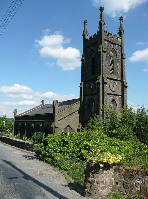 St Paul's Church, Cross Stone, Todmorden