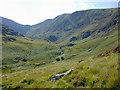 SH7212 : Cwm Cau, from the Mynydd Moel path by Nigel Brown