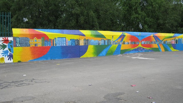 Mural on Railway Bridge