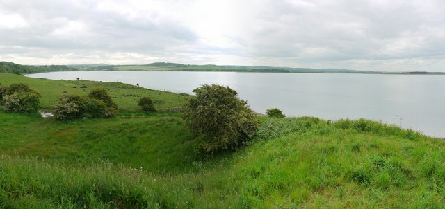 Budle Bay west from Kiln Point