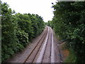 TM3973 : Railway Lines to Darsham by Adrian Cable