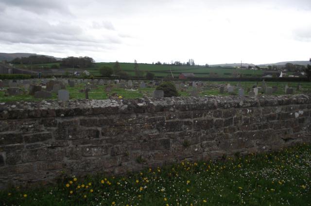 St. Decuman's outer churchyard