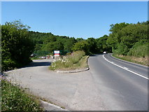 SS4939 : Southwest Highways (SWH) Depot on the A361 near Knowle by Roger A Smith