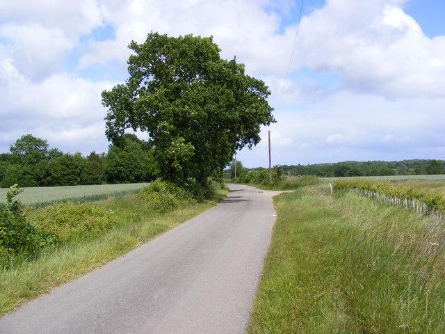 Bridge Road to the A144 Bramfield Road