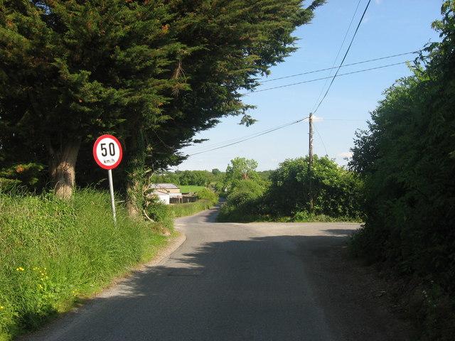 Crossroads at Rathcarran, Co. Meath