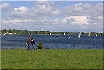 SK7046 : Yachting lake by derek dye