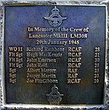 SK7046 : Memorial plaque by derek dye