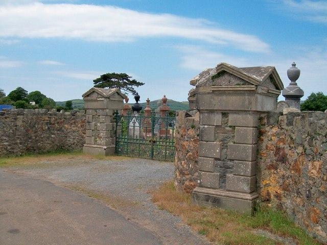 The entrance to Capel Bethel Cemetery, Penrhos