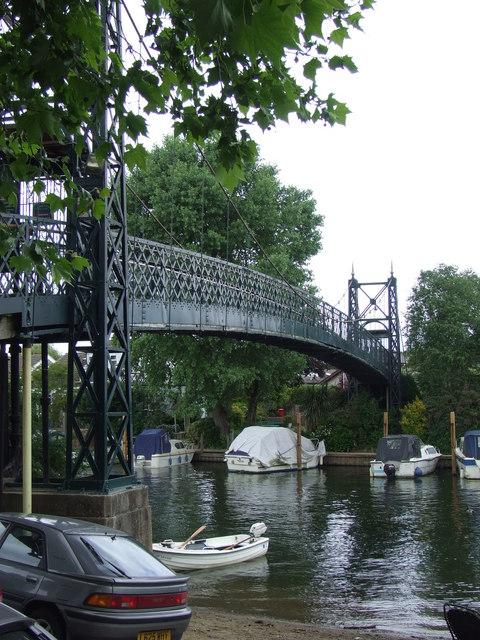 Bridge to Ditton Island