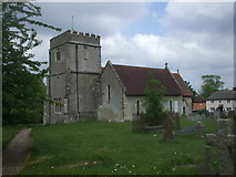 SU4980 : St Mary's Church, East Ilsley by John Lord