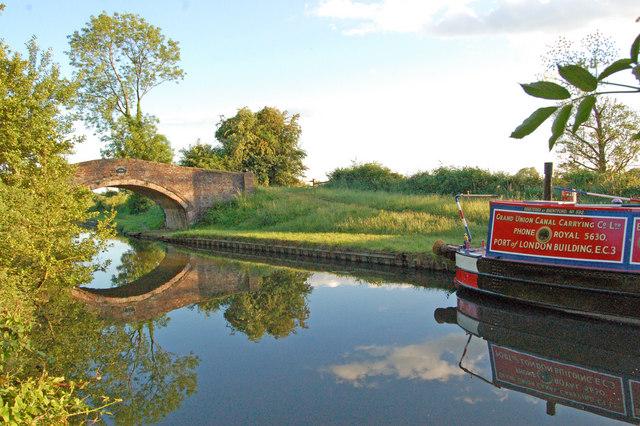 Hazelstrine Bridge on the Staffs & Worcs Canal at Wildwood, Stafford