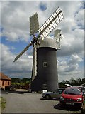 SK7371 : Tuxford Windmill by Ashley Dace
