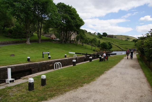Lightbank Lock No. 31 on the Rochdale Canal