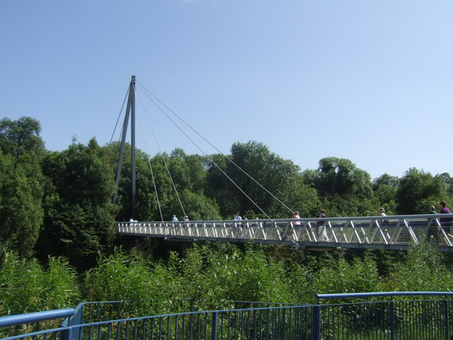 Footbridge over the River Boyne