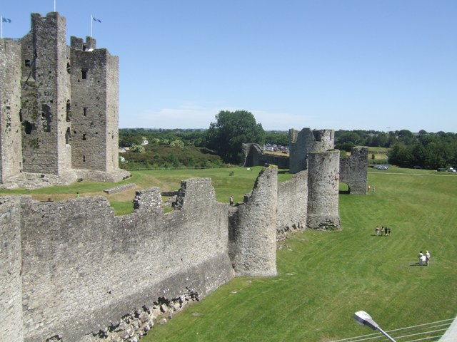 The Bailey of Trim Castle