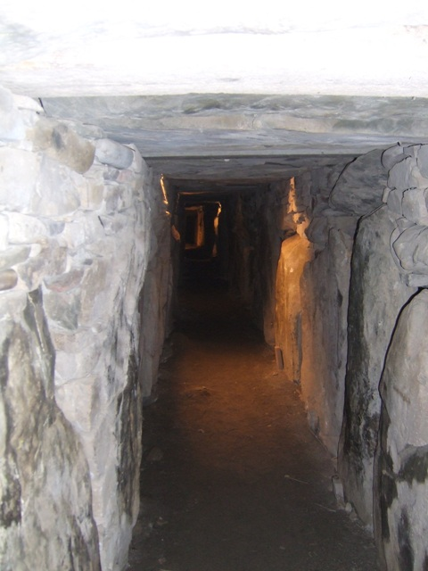 East passage at Knowth