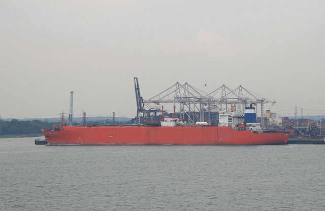 Southampton container port