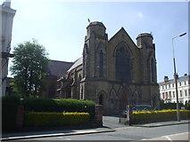 SJ3688 : Belvidere Rd Church by John Lord