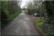 SS9531 : Brompton Regis 'city limits' by Stephen Wilks