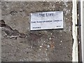 W6772 : Sign for The Loft Shakespearean Company, Shandon, Cork by Mac McCarron