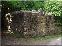 ST1541 : Preserved dog pound near Holford Bowling Green by Stephen Wilks