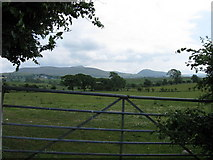 NY0724 : View towards Lakeland hills by Alex McGregor
