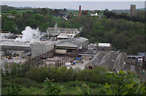 ST0642 : Looking down on Wansborough Papermill by Stephen Wilks
