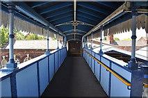 TL4197 : Footbridge at March Station by Ashley Dace