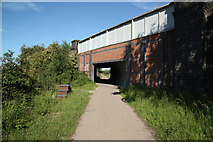 SK8571 : Moor Lane Bridge by Richard Croft