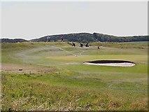 NU2522 : Dunstanburgh Castle Golf Course by Oliver Dixon