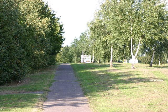 A path located along the Marlborough Way  (2)