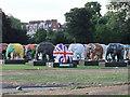TQ2878 : Indian Elephants at London's Elephant Parade by PAUL FARMER