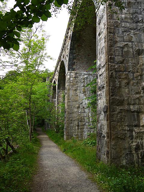 Railway Viaduct in the Pass of Killiecrankie