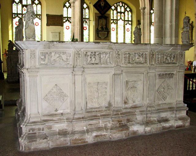 St Michael's church in Framlingham - Henry Fitzroy tomb