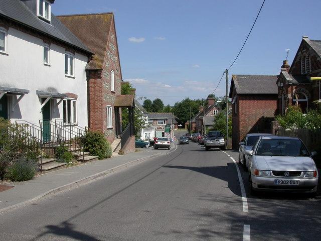 Sixpenny Handley High Street