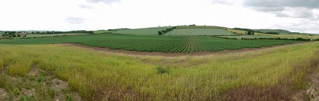 Flodden Battlefield panorama