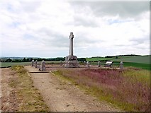 NT8837 : The Flodden Battlefield Memorial by Andrew Curtis