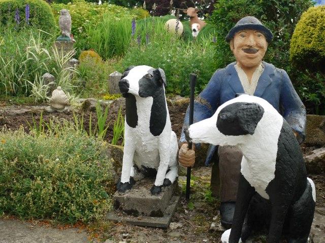 Farmer & Collies, The Cement Menagerie, Branxton