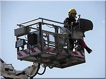J0153 : Portadown Fire Station, Thomas Street, Portadown by HENRY CLARK