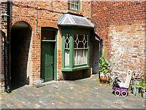 SP0786 : Back yard, Court 15, Inge Street, Birmingham (3) by Brian Robert Marshall