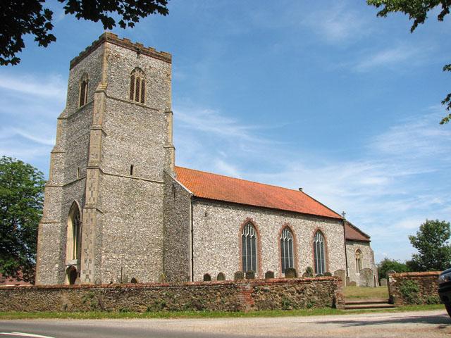 St Mary's church in Hillington