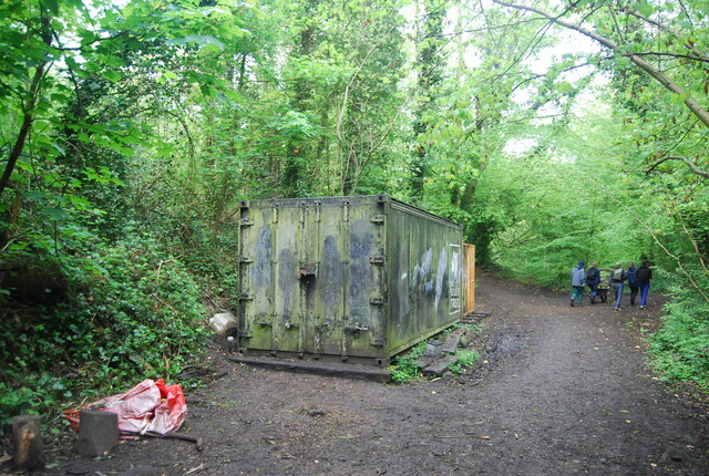 London Wildlife trust shed, Sydenham Hill Wood Nature Reserve