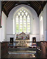 TF7329 : St Mary's church in Anmer - the chancel by Evelyn Simak